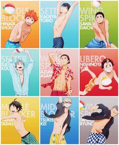 Haikyuu!! | Beach volleyball with the Karasuno boys