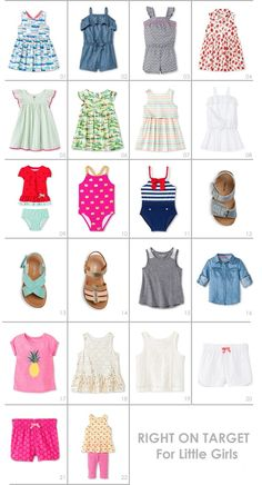 Adorable clothes and accessories for little girls at Target | Hellobee