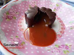 İCİ DOLGULU CİKOLATA YAPIMI - Senemin yemekleri ( valantine chocolate )