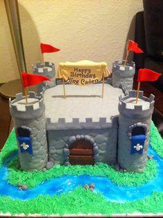 Boy Castle Cake — Birthday Cakes