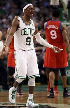 Rajon Rondo - Philadelphia 76ers v Boston Celtics - Game Two