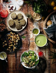 <p>Vanessa Rees is a photographer based in New York City who specializes in food and still life. Her series for cookbook Protein Ninja is beautifully executed, we love the concept and color palette. T