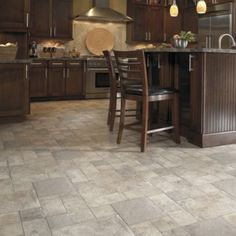 Wooden floor tile design ideas to make you fall in love for Laminate floor coverings for kitchens