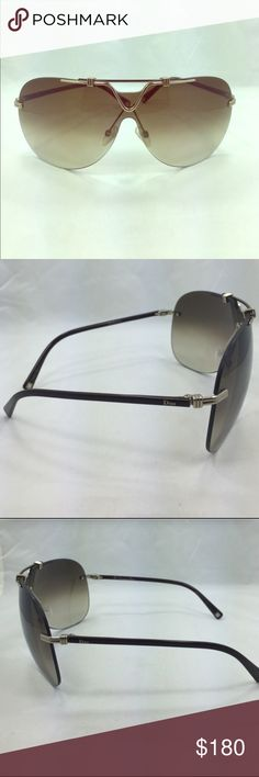 Dior Sunglasses with case. Authentic Dior Dior Accessories Glasses
