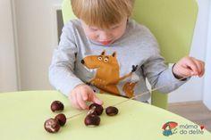 Tipy na výrobky z kaštanů s malými dětmi | Mamadodeste.cz Pudding, Desserts, Food, Tailgate Desserts, Deserts, Custard Pudding, Essen, Puddings, Postres