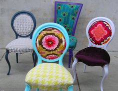 My kind of chairs...COLOR!