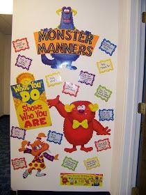 monster bulletin boards | Found on betterbulletinboards.blogspot.com