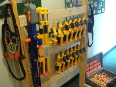 need to make this for the boys nerf guns!!