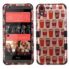 MYBAT TUFF Hybrid HTC Desire 626 / 626S Case - Coffee Lover