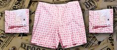 Very cool men's shorts - prints all over - Pigs Fly - Breese Menswear  http://www.breesestyle.com