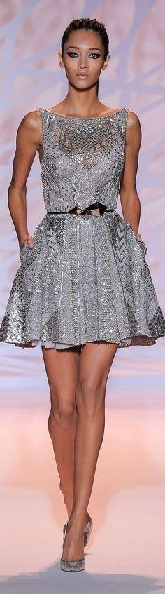 Zuhair Murad Couture F/W 2014-2015 Not sure if I like the Raw Hemline...