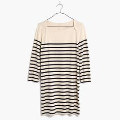 Madewell x Sezane striped knit dress
