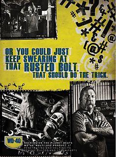 WD-40 print ads