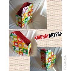 Revisteiro Snoopy e sua Turma! Bem colorido, com o cachorro mais amado do mundo!!! As crianças vão adorar! www.munayartes.com #munayartes #elo7 #elo7br #foradesérie #feitoamao #handmade #artesanato #craft #cartonagem #snoopy