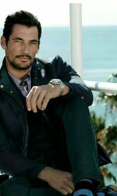 David Gandy for Selected 2014 What A Wonderful World, Famous Male Models, Moda Formal, Androgynous Models, David James Gandy, Body Poses, Perfect Man, Beautiful Men, Hello Gorgeous