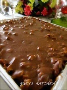 This is ABSOLUTELY the BEST Chocolate Sheet Cake EVER! I get so many requests for this recipe. It's one of the most popular recipes I've ever posted!
