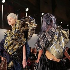 #Love #Genius #MaisonMargiela #Spring #2016 #Couture by #JohnGalliano