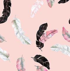 417 отметок «Нравится», 5 комментариев — Patternbank (@patternbank) в Instagram: «New light feathers print is now available in premium area on my patternbank page »…»