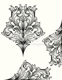 Designed by a hand engraver. True engraving designs for page corners and edges. Also includes symmetrical element. Change color and scale easily with the enclosed EPS and AI files. Also includes...