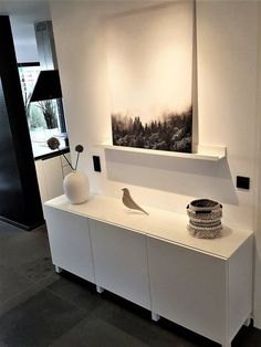 Finally it is there the new sideboard ☺️ - Ikea DIY - The best IKEA hacks all in one place Stylish Home Decor, Modern Decor, Diy Home Decor, Room Decor, Interior Inspiration, Room Inspiration, Ikea Ps, Interior And Exterior, Interior Design