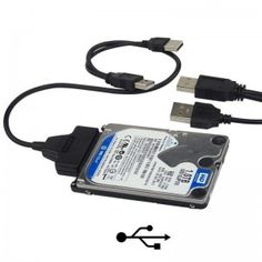 """SATA to USB 2.0 Adapter Cable for 2.5"""" Hard Disk Drive"""