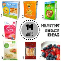 Healthy Toddler Snack Ideas
