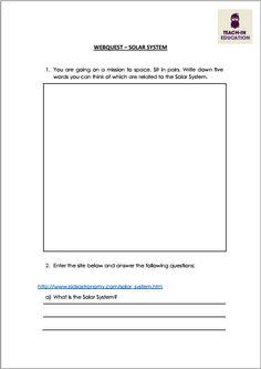 Um Webquest bem elaborado pode motivar os alunos a procurar e aprender os mais diversos assuntos com a ajuda da internet. Ele direciona o aluno a sites diferentes à procura de respostas. Ele pode ser usado ao final de uma aula, para a verificação de aprendizagem ou no início de uma aula, como um warm-up, para melhor preparar os alunos para um determinado assunto.