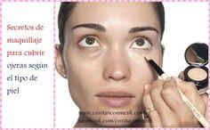 Aprende cómo cubrir ojeras con tu maquillaje y consigue un rostro más descansado