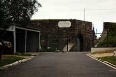 There is an abandoned war museum at Fort Wynyard next to the Somerset Hospital complex in Sea Point, Cape Town.