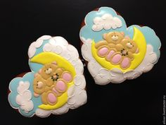 Купить Пряничные сердечки - разноцветный, сувениры, подарки, подруге, другу, козули, пряники, вкусняшка, мишки
