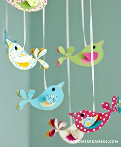 House of Turquoise: Sarah Brantley    I love these little birds!!!