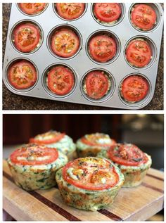 Cheesy Spinach Muffins - Must Try Muffin Tin Meals