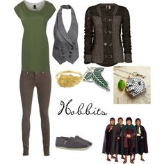 HOBBIT FASHION! I would never wear skinny jeans, but otherwise, THIS IS AMAZING!