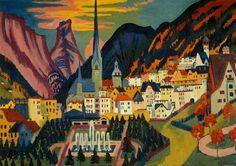 Ernst Ludwig Kirchner, Davos in summer 1925