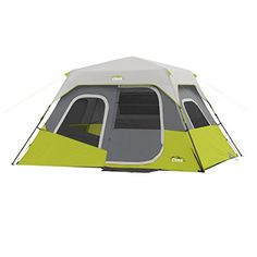 CORE 6 Person Instant Cabin Tent  11 x 9 >>> Be sure to check out this awesome product.