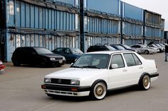 Jetta large bumpers