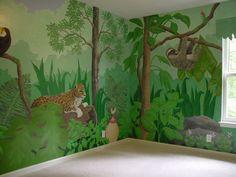 Jungle Animals Wall Murals Inspiration