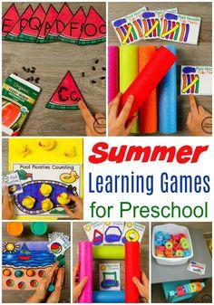 Summer Preschool - Planning Playtime