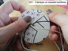 DIY - Fabriquer un bracelet kumihimo (à partir de 6 ans)