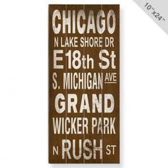 Chicago is my jam.