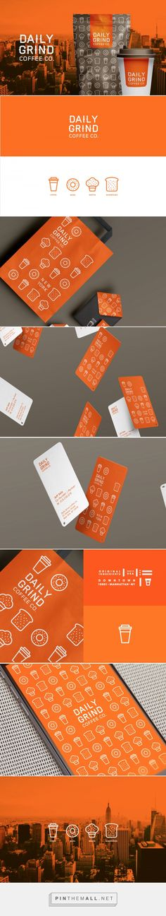 Daily Grind Coffee Co. — The Dieline - Branding & Packaging... - a grouped images picture - Pin Them All