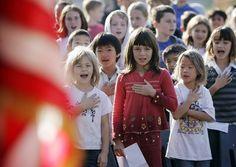 Aug 22 School Sends Home Permission Slip for Reciting the Pledge of Allegiance!