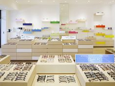 Zoff Eyewear Shop by Emmanuelle Moureaux, Iruma – Japan » Retail Design Blog