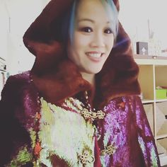 """Www.fandecouture.com autumn cape. 10% off anything on the site with code """"violin"""" #bling #sequins #fringeandepaulette"""