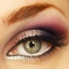 Whether your hazel eyes have more green in them or more brown, violet and plum shades of eyeshadow can really enhance the natural color. A light violet or plum on the lids can really bring out the beauty in hazel eyes - but so can a darker, stronger purple shade. Combining the two? That can be eyeshadow glory!