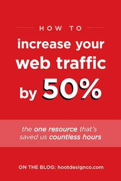 How to Increase Your Website Traffic by 50% (in Just One Month)