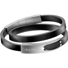 Calvin Klein Watches Jewelry 2017 Lines Leather Bracelet For Men Ckminute Calvinklein