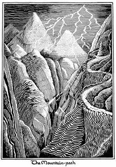 File:J.R.R. Tolkien - The Mountain-path.jpg