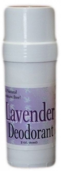 Lavender Deodorant ~ All Natural Handmade and Aluminum Free