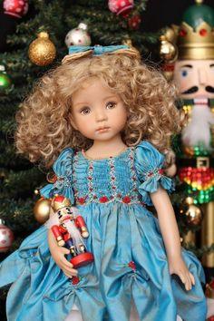 """OOAK Smocked Special Edition Nutcracker Set for Effner 13"""" Little Darling Dolls"""